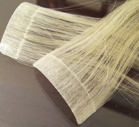 clean-tape-in-hair-extension-weft